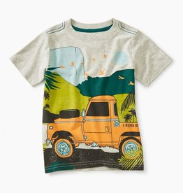 Tea Collection Trek Truck Graphic Tee for Boy