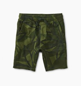 Tea Collection Printed Knit Gym Shorts for Boy