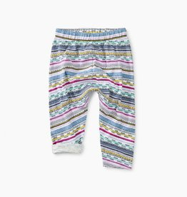 Tea Collection Printed Knit Baby Pant for Baby Girl