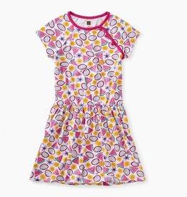 Tea Collection Tropical Toss Printed Raglan Dress for Girl