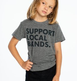 Chaser Brand Support Local Bands Tee for Kids