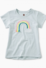 Tea Collection 3D Rainbow Graphic Tee for Girl
