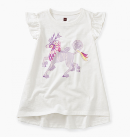 Tea Collection Thailan Unicorn Twirl Top for Girl