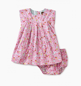 Tea Collection Ditsy Pleated Baby Dress for Baby Girl
