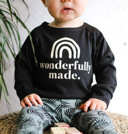 "Little and Lively Kids' ""Wonderfully Made"" Pullover"