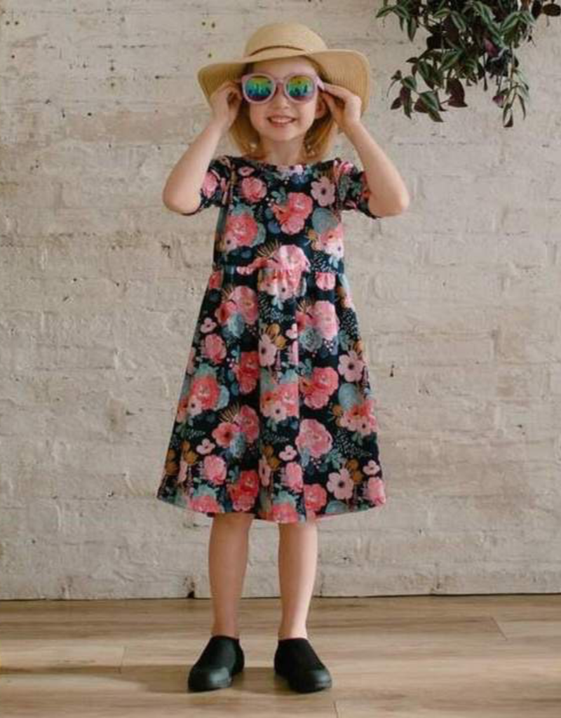 Little and Lively Floral Daphne Dress for Girl