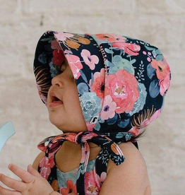 Little and Lively Floral Sun Bonnet for Baby Girl