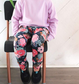 Little and Lively Cactus Floral Bamboo/Cotton Leggings for Kids