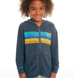 Chaser Brand Surf Stripes Zip Hoodie for Boy