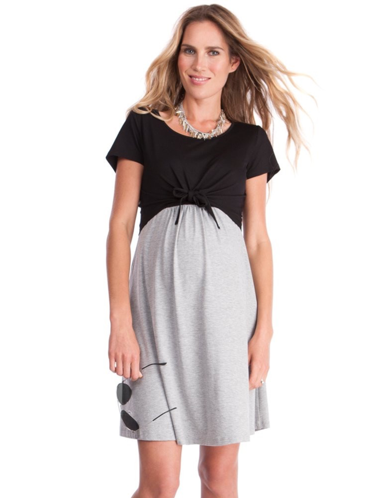 Seraphine Seraphine, Spencer, Front tie, Maternity & Nursing Dress