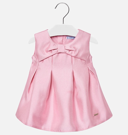 Mayoral Flared satin dress for Baby Girl