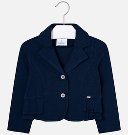 Mayoral Pleated Blazer for Girl