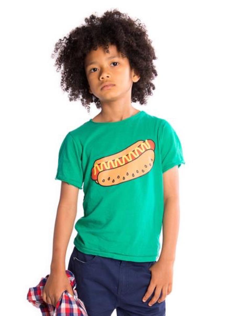 Appaman Hot Dog Graphic Short Sleeve Tee for Boy