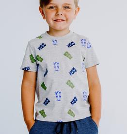 Birdz Children Gummy Bear Print T-Shirt for Boy