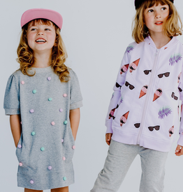 Birdz Children Pompom Dress for Girls