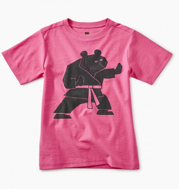 Tea Collection Martial Arts Bear Graphic Tee for Boy