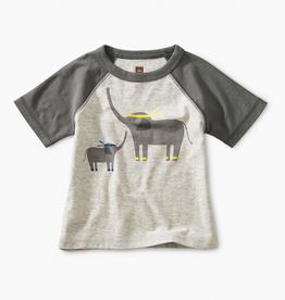 Tea Collection Martial Arts Elephant Baby Tee for Baby Boy