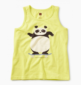 Tea Collection Panda Graphic Tank for Girl