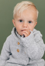 Beba Bean Crochet Hoodie for Baby