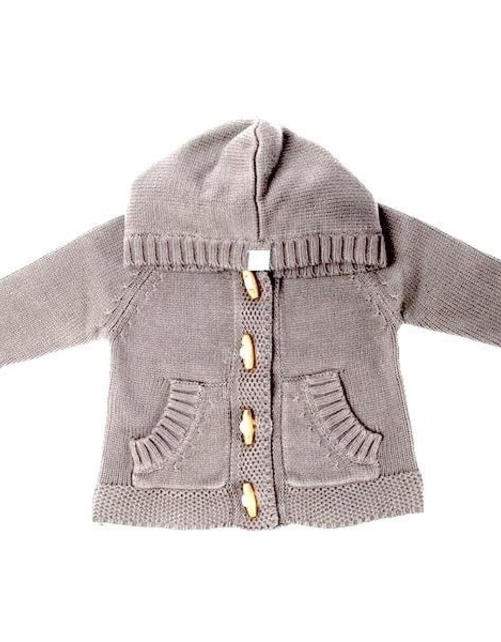 Beba Bean Knit Hoodie for Baby