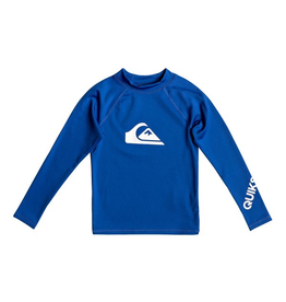 Quiksilver All Time Long Sleeve UPF 50 Rashguard for Boy