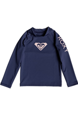 Roxy Whole Hearted Long Sleeve UPF 50 Rash Guard for Girl