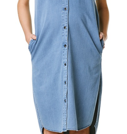 Supermom Short Sleeve Denim Dress