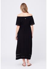 Ripe Maternity Cold Shoulder Maxi Dress