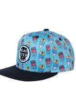 Headster Kids Monster Freeze Blue by LA CHARBONNE Snap Back Cap