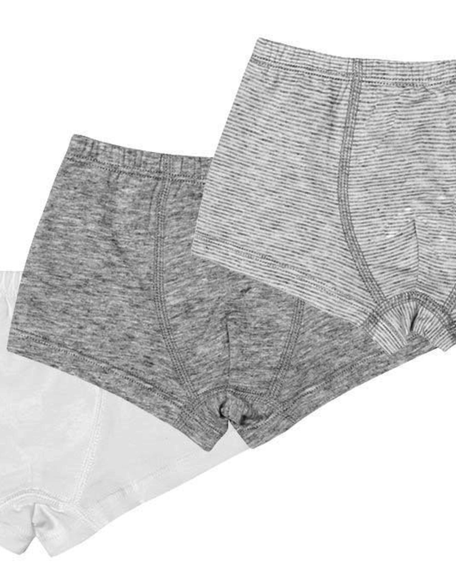 Nest Designs Organic Cotton Boxer Briefs Underwear (3 Pack)