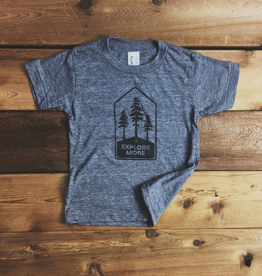 Locomotive Explore More Tee for Kids