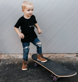 Locomotive Skateboard Tee for kids
