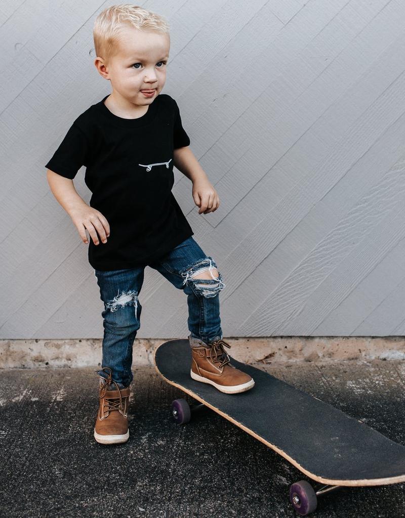 Locomotive Skateboard Tee