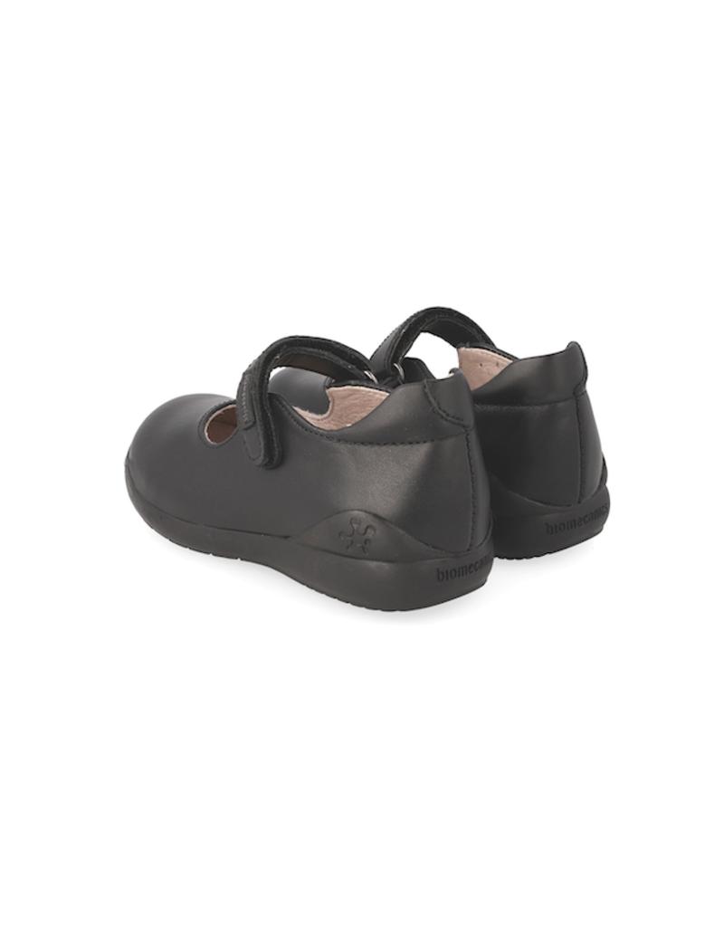 Biomechanics Velcro Mary Jane Uniform Shoes for Girl