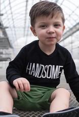 Posh & Cozy Handsome Crewneck Sweatshirt for Boy