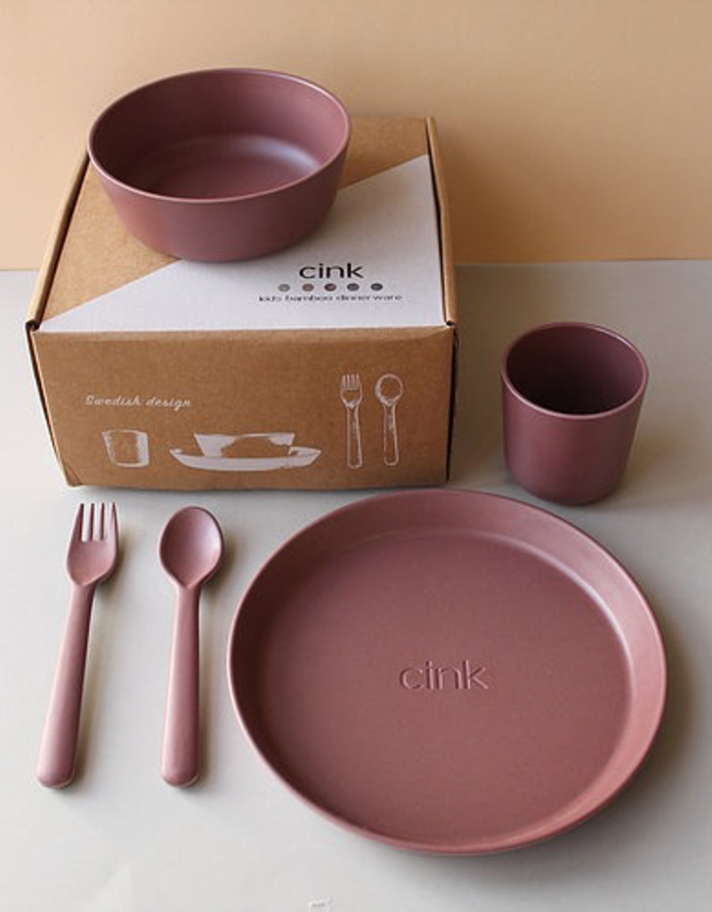 Cink Giftbox Giftbox with Bowl, Plate, Cup Spoon and Fork for Kids
