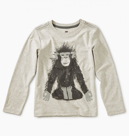 Tea Collection Monkey Ohm Graphic Tee for Boy