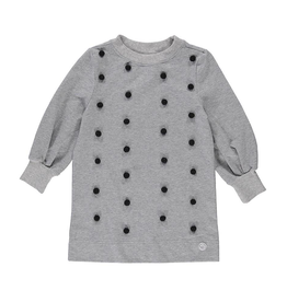 Birdz Children Long Sleeve Pompom Dress for Girls