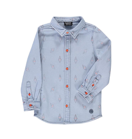 Birdz Children Danger Jean Shirt for Boy