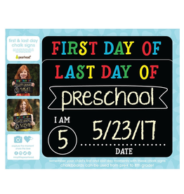 Pearhead First & Last Day Chalk Signs