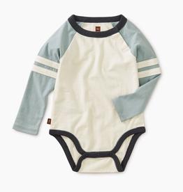 Tea Collection Explorer Colorblock Raglan Bodysuit for Baby Boy