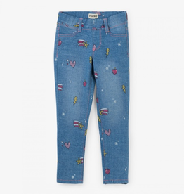 Hatley Grily Doodles Stretch Denim Pants
