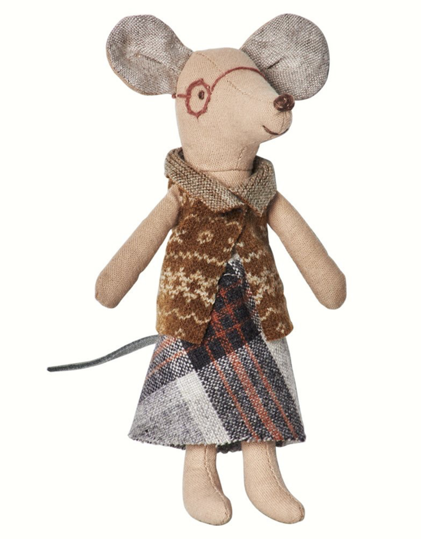 Maileg Grandma and Grandpa Mouse in Matchbox
