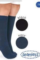 Jefferies Socks Seamless Big Hug Knee High 2 PK