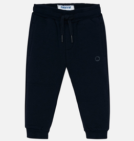 Mayoral Basic Cuffed Fleece Trousers for Boys