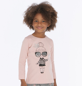 Mayoral Girl Graphic T-Shirt for Girls
