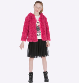 Mayoral Pleated Tulle Skirt for Girls