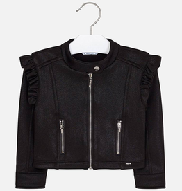 Mayoral Faux Leather Jacket for Girls