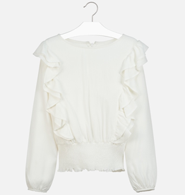 Mayoral Ruffled Blouse for Girls