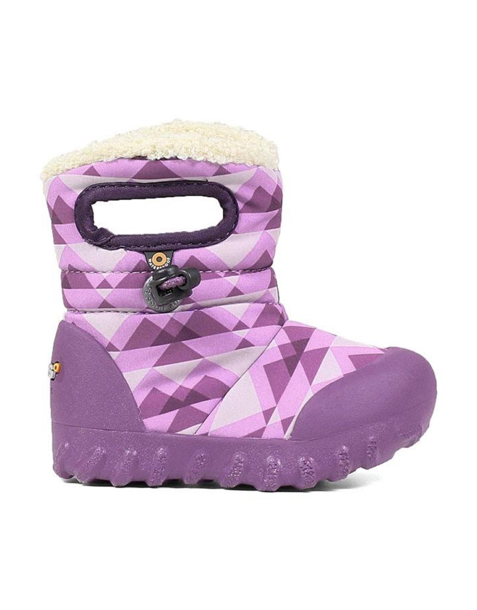 Bogs Kids' B-MOC Purple Mountain Snow Boots